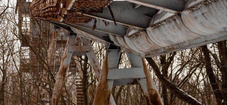 A mátraházi síugrósánc nyomában
